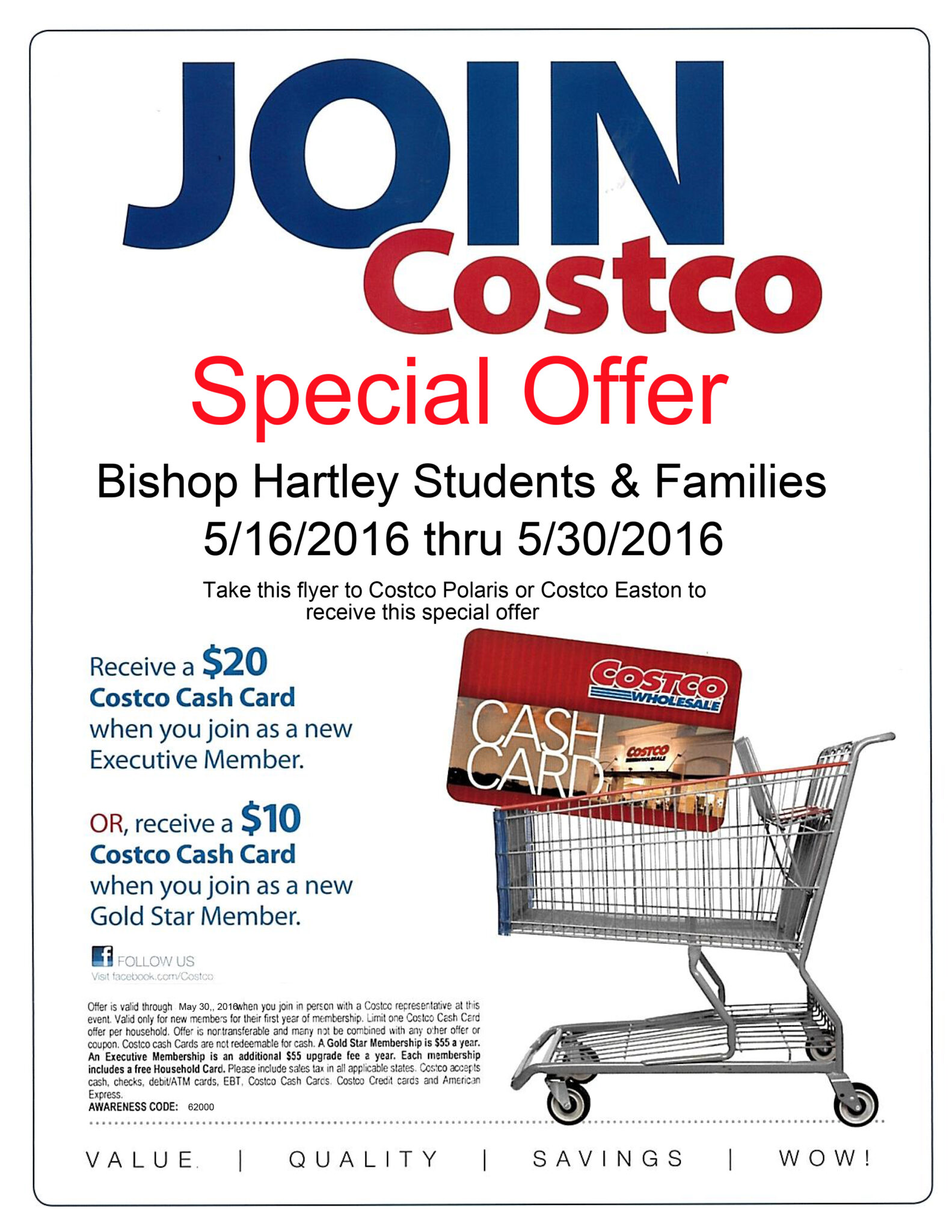 Costco discount membership coupon
