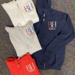 BH full zip-front hoodie
