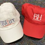 Hartley unstructured ball cap (available in red, white, blue and gray)