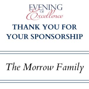 E OF E SPONSORSHIP Morrow